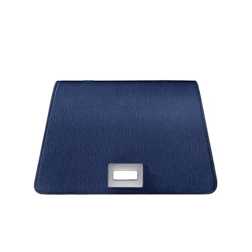 Bellamì patta in pelle saffiano blu royal