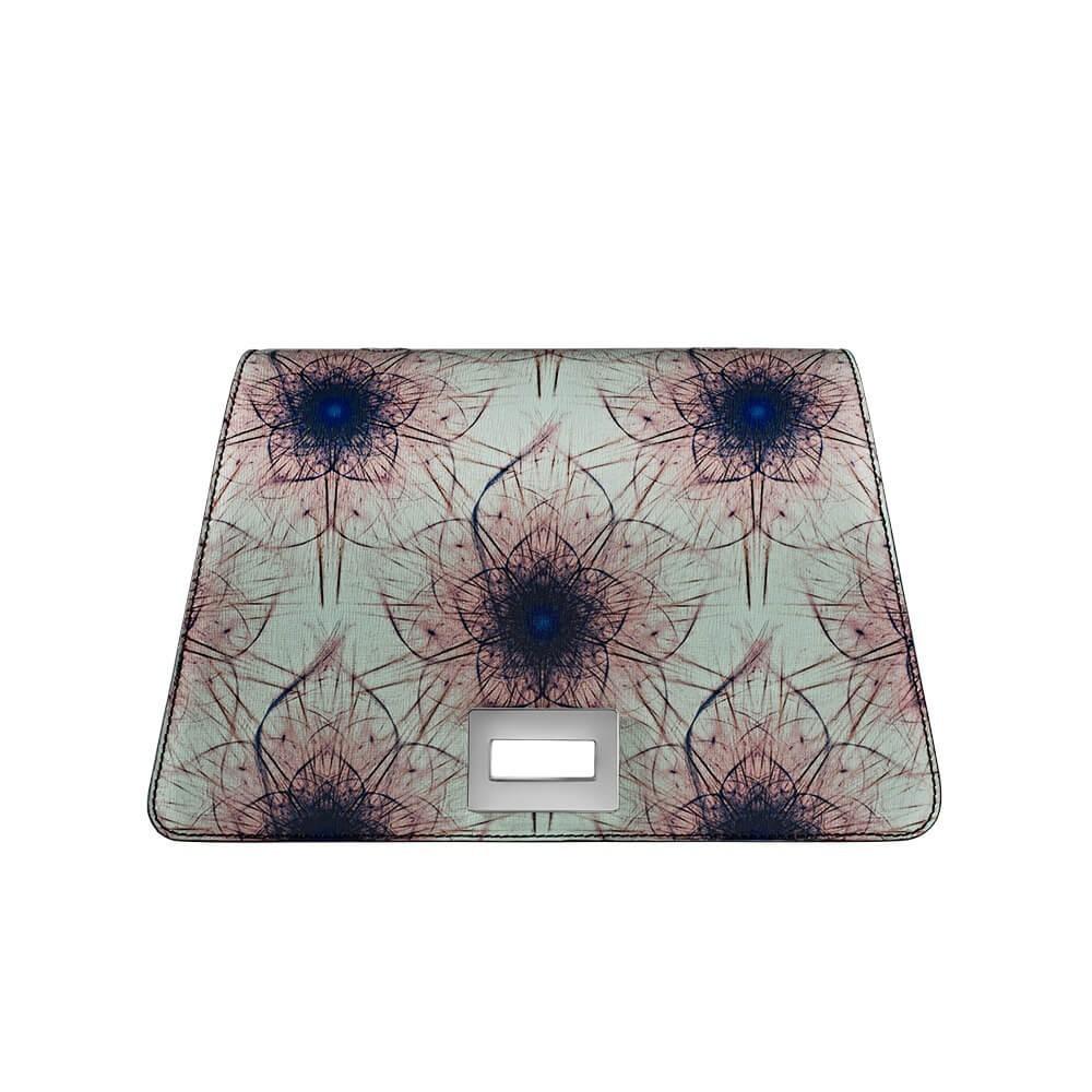 Bellamì patta in pelle con fiore in digitale