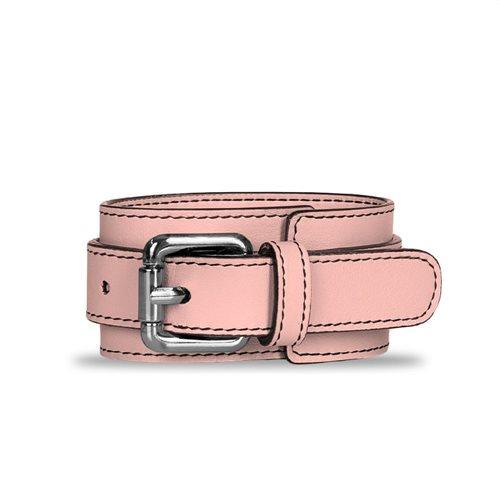 Bracciale per borsa in pelle Lolla e Ketty colore rosa