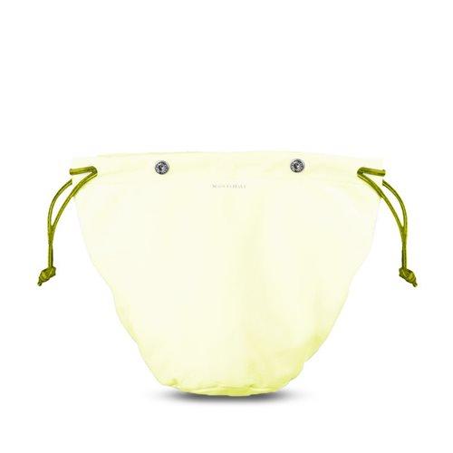 Sacca interna con laccio per borsa in pelle Medusa colore beige / lemon