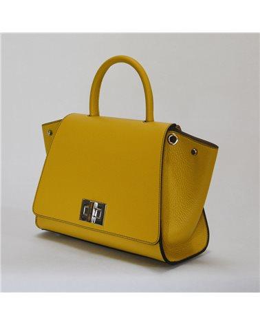 Borsa gialla modello Bellami cod BEBO532