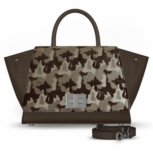 Borsa marrone in pelle modello Bellami cod BEBO537